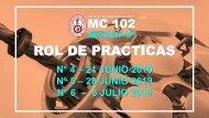 ROL DE PRACTICAS MC 102 D Y E