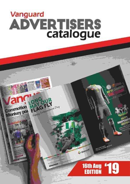 advert catalogue 16 August 2019
