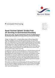2019.08.16 Pressemitteilung zum Queer Summer Splash