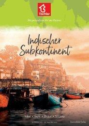 Tischler Reisen - Indischer Subkontinent 2019-20
