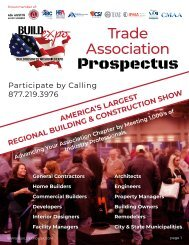 Build Expo Association Prospectus