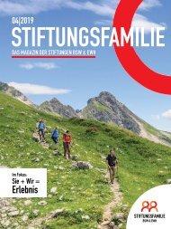 Stiftungsfamilie - Ausgabe 04/2019