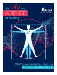 2019 Alabama State Nurses Association Yearbook