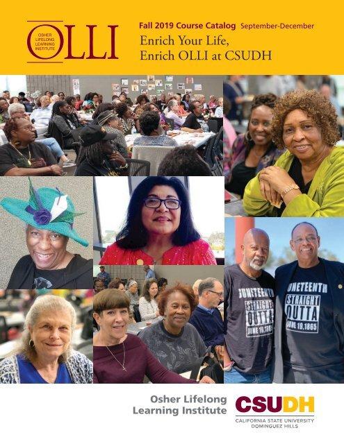 Fall 2019 OLLI Catalog (Interactive)