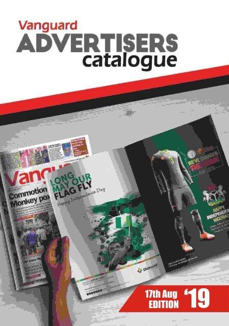 advert catalogue 17 August 2019
