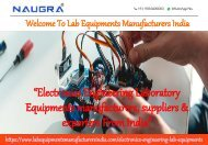 Electronics Engineering Lab Equipments Manufacturers