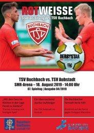 Stadionzeitung TSV Buchbach - TSV Aubstadt