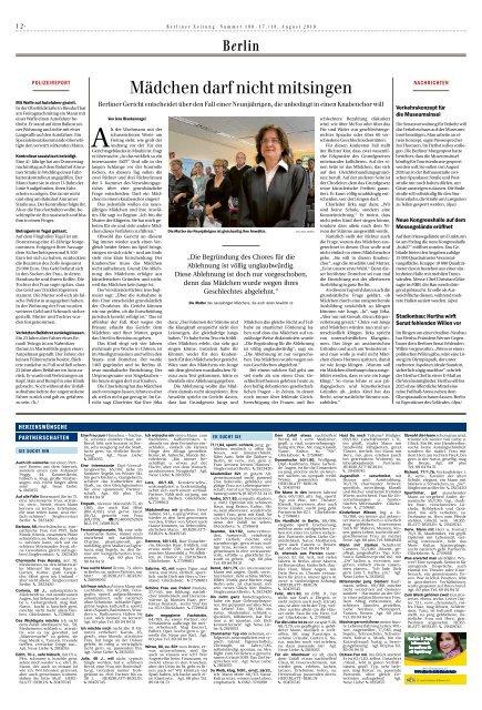 Berliner Zeitung 17.08.2019