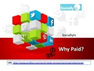 Why Paid? | Social Media Advertising By Sociallyin