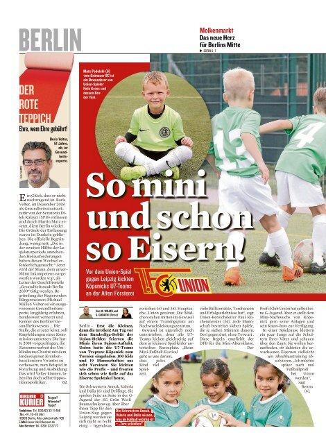 Berliner Kurier 18.08.2019