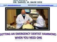 Getting-An-Emergency-Dentist-Hammond-When-You-Need-One