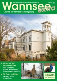 Wannsee Journal Februar/März 2016