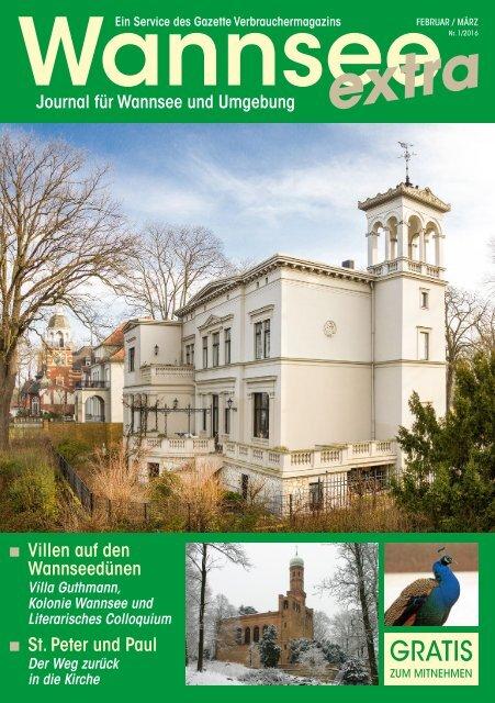 Wannsee Journal Februar/März 2016