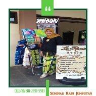 CALL/WA 081-2291-5503, Seminar Kain Jumputan