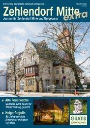 Zehlendorf Mitte Journal Februar/März 2016