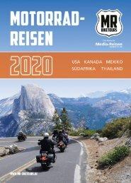 MR Biketours | Motorradreisen Katalog 2020