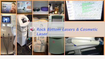 Quality Aesthetic Laser Equipment
