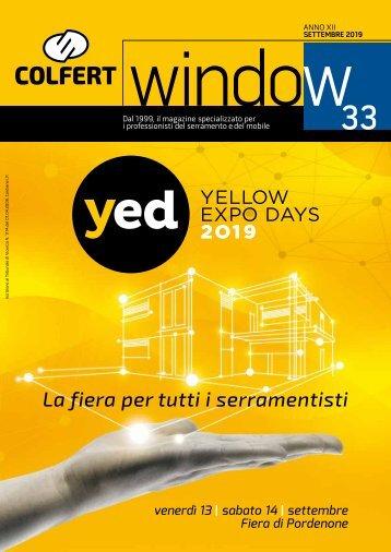 COLFERTwindow 33 - AGOSTO 2019 speciale COLFERTexpo YED
