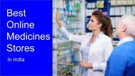 Best Online Medicine Store to Buy Medicines