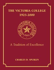 The Victoria College, 1925-2000: A Tradition of Excellence