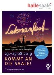 Programm Laternenfest Halle 2019