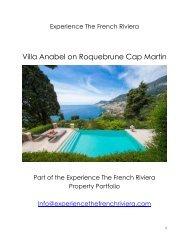 Roquebrune Cap Martin - Villa Anabel