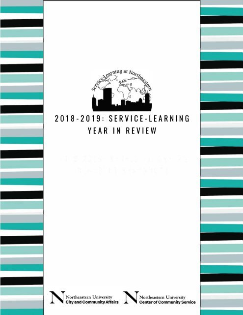 2018-2019: Service-Learning Year In Review