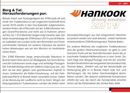 DTM 2019 - Race 11|12 Brands Hatch [UK] - {have speed in f[ ]cus!} Das Onlinemagazin zur DTM.