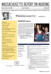 Massachusetts Report on Nursing - September 2019