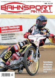 Bahnsport 09/2019