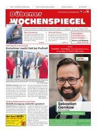 Dübener Wochenspiegel - Ausgabe 16 - Jahrgang 2019