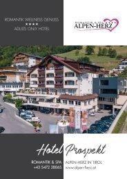 Romantik & Spa Hotel Alpen-Herz – Hotelprospekt