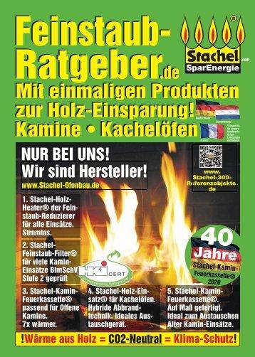 Stachel-Feinstaubratgeber