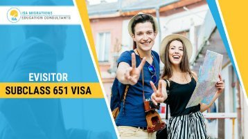 Evisitor Subclass 651 | Migration Agent Perth