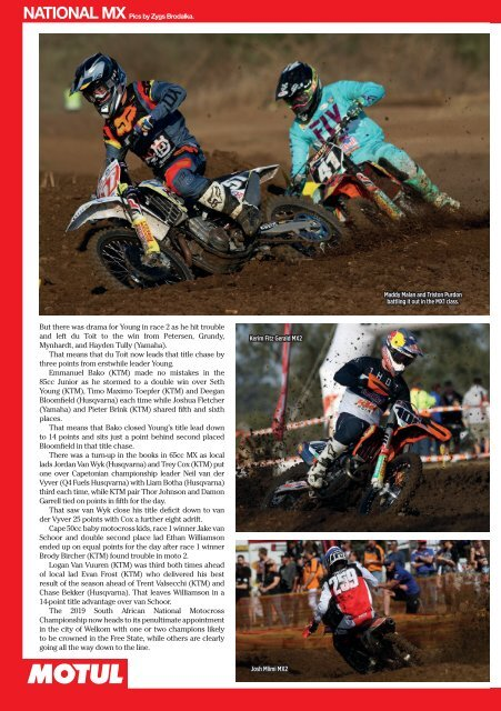Dirt and Trail September 2019