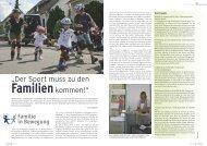 """""""Der Sport muss zu den Familienkommen!"""""""