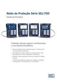 Relés de Proteção Série SEL-700