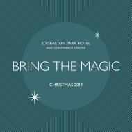 NEW EPH CHRISTMAS 2019 BROCHURE