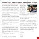 Symmons & Allen Vintners wine portfolio - Page 3