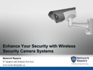 Enhance Your Security with Wireless Security Camera Systems