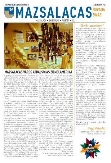 Mazsalacas novada ziņas_augusts2019