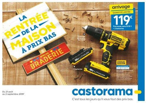 Castorama Catalogue 21 Aout 2 September 2019