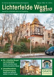Lichterfelde West Journal Februar/März 2016
