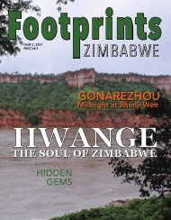 FOOTPRINTS ISSUE 1