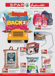 SPAR flyer from 21th to 27th Aug2019