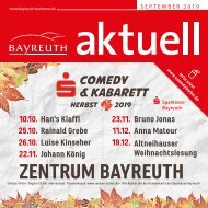 Bayreuth Aktuell September 2019