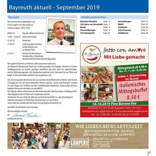 Bayreuth Aktuell September 2019