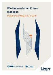 Studie zum Krisenmanagement