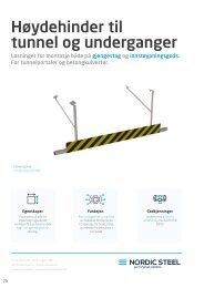 Høydehinder til tunnel og underganger - Nordic Steel