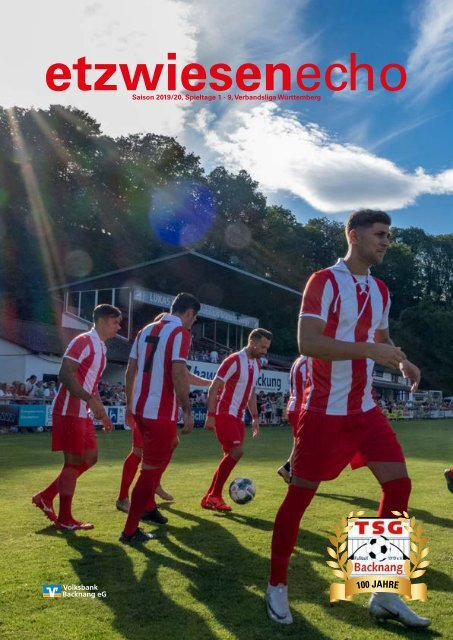 Etzwiesenecho 1 Saison 2019-20 Verbandsliga